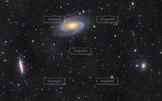 夜中の星の写真・画像素材[3382910]