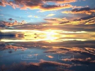 夕焼けの写真・画像素材[3395349]