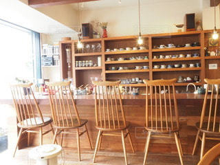 おしゃれなカフェの写真・画像素材[3391269]