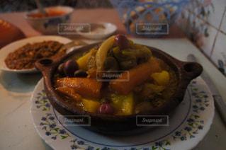 モロッコ,マラケシュ,ゆか写,タジン,鳥のタジン,ブルージュド門の側の店