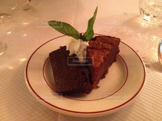 フランス,パリ,ゆか写,モンパルナス,Le Relais de l'Entrecôte,gâteau chocolat