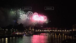 花火,フランス,パリ,エッフェル塔,セーヌ川,ゆか写,革命記念日,7月14日