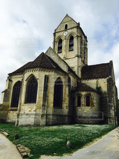 ゴッホ最後の教会の写真・画像素材[1201371]