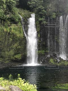 富士宮市白糸の滝の写真・画像素材[3398192]