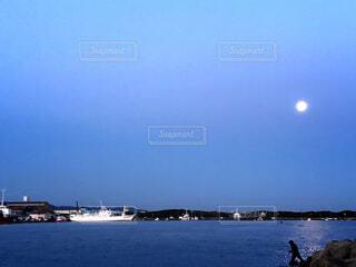 大きな水域の写真・画像素材[4295138]