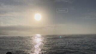 風景,海,空,屋外,太陽,朝日,ビーチ,雲,水面,海岸,月,太平洋,穏やか
