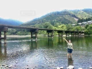 四万十川の写真・画像素材[3683237]