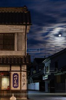 夜空の写真・画像素材[3398381]