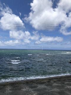 海と空の写真・画像素材[3393215]