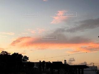 いつもの空の写真・画像素材[3396851]