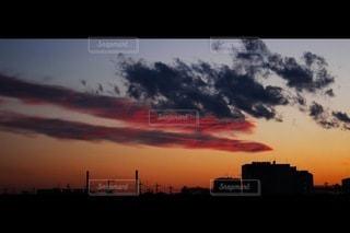 黄昏時の写真・画像素材[3394725]