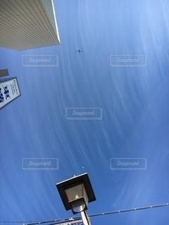 駅前の上空の写真・画像素材[3509214]