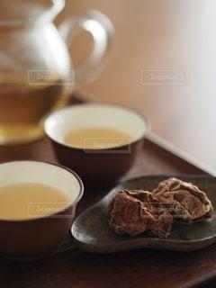 ウーロン茶の写真・画像素材[3446684]