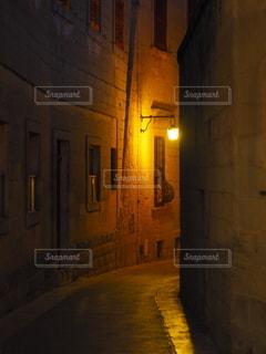 静かな通りの写真・画像素材[3514730]