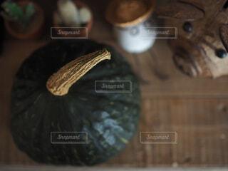 カボチャのクローズアップの写真・画像素材[3673100]