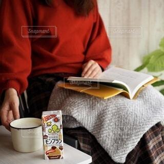 ホッ豆乳の写真・画像素材[3779422]