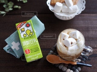 調製豆乳で。の写真・画像素材[3780179]