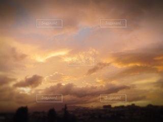 夕焼け空の写真・画像素材[3438489]