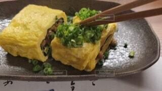 食べ物,食事,フード,卵焼き,おいしい,卵料理,納豆,飲食
