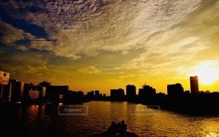 夕焼け!の写真・画像素材[3437603]