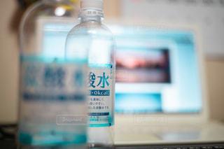 ボトルのクローズアップの写真・画像素材[3466748]