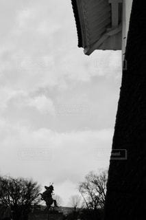 出陣〜ブラック&ホワイトの写真・画像素材[3455625]