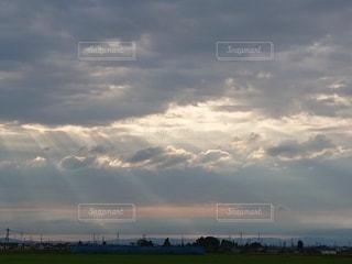 光芒の写真・画像素材[3413503]