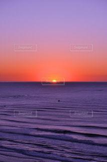 日の出の写真・画像素材[3457578]