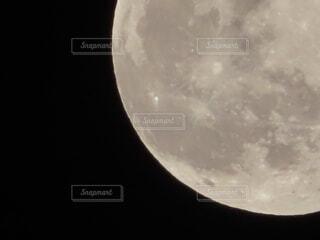 自然,風景,空,夜空,天体,星,月,アップ,満月