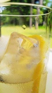 氷とシュワシュワの写真・画像素材[3560193]