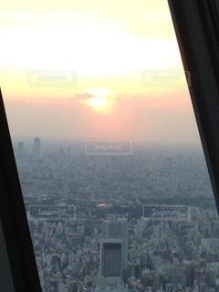 都会の夕暮れの写真・画像素材[3434184]