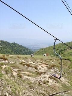 リフトからの山の眺めの写真・画像素材[3575421]