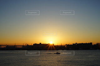 朝日,正月,横浜,お正月,日の出,大桟橋,新年,初日の出,大桟橋日の出