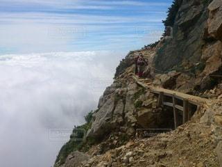 登山の風景の写真・画像素材[3444691]