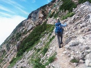 登山の写真・画像素材[3507450]