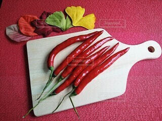 色鮮やかな唐辛子の写真・画像素材[3676009]