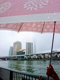 今日は1日雨の写真・画像素材[3677557]