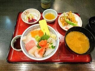 北海道料理店の海鮮丼の写真・画像素材[3782385]