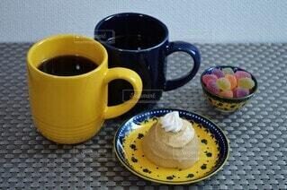 コーヒーでひと休みの写真・画像素材[3895165]