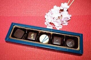 色々な味が楽しめるチョコレートの写真・画像素材[4202771]