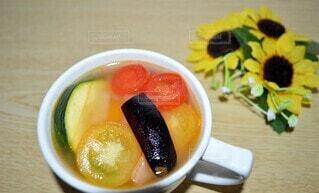 夏野菜スープの写真・画像素材[4667210]