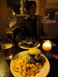 イギリスでまずくない食事の写真・画像素材[3444157]