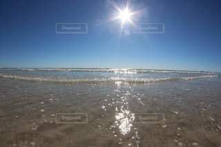 透き通る海の写真・画像素材[3609128]