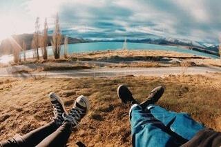 ハイキングの写真・画像素材[3629508]