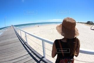 青い空、青い海!の写真・画像素材[3806265]