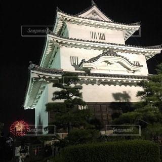 大きな建物の眺めの写真・画像素材[3456129]