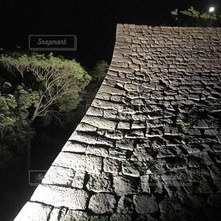 石垣の写真・画像素材[3456131]