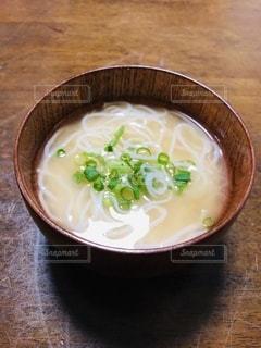 素麺汁の写真・画像素材[3538914]