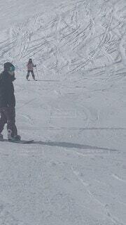 自然,雪,屋外,山,丘,スキー,スノーボード,履物,スポーツ用品