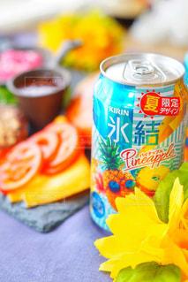 常夏気分の氷結パイナップル!の写真・画像素材[1327358]